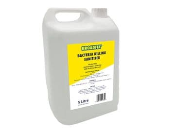 Non-Alcohol Hand Sanitiser 5 Litre Container